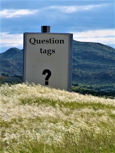 GRAMMAR 9: QUESTION TAGS